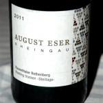 2011 Rauenthaler Rothenberg Riesling trocken - Steillage, ein Meisterstück von Désirée Eser